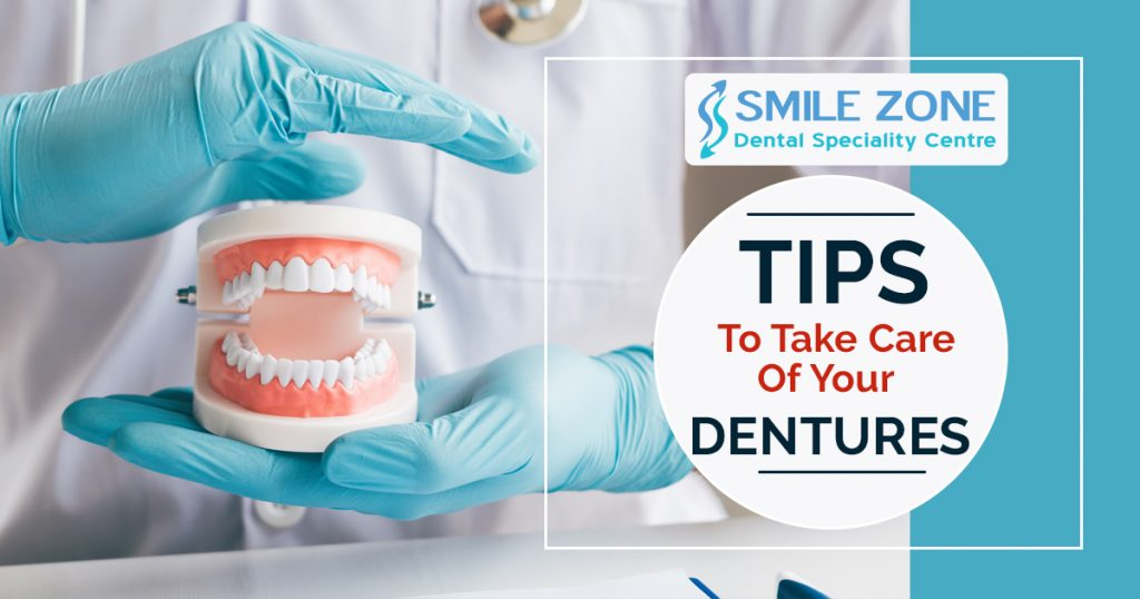 Tips to take care of your dentures