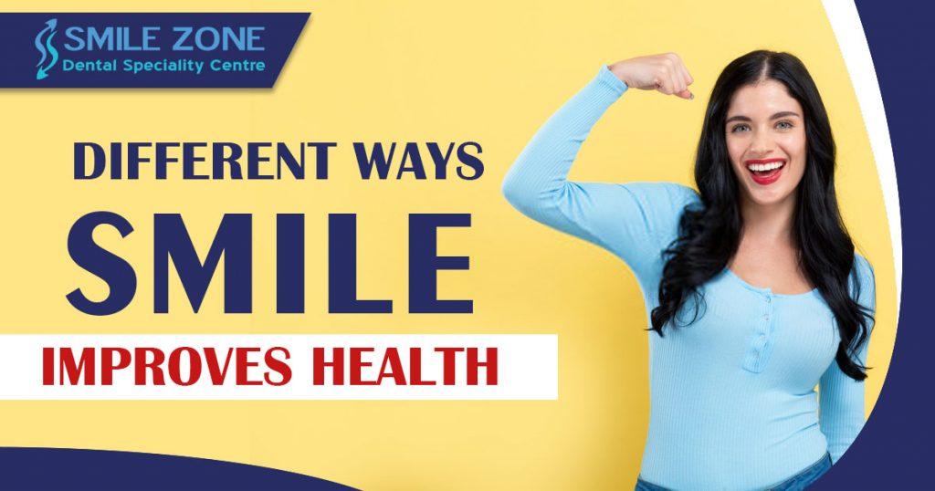 Different Ways Smile Improves Health