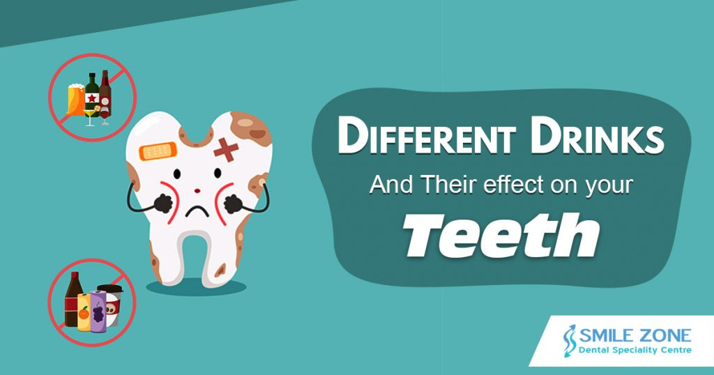 Different Drinks and their effect on your teeth